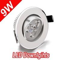 Promotion! 4 PCS 3w LED down light cool/ warm white AC85-265V ceiling light spotlight+ power 2yrs warranty New Design