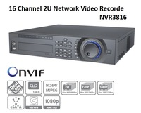 16 Channel 2U Network Video Recorder NVR3816, 16CH@D1 /8CH@720P/ 4CH@1080P Support ONVIF And Many Brands IP Camera 8 SATA Ports