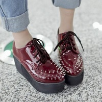 Fashion street shoes personalized motorcycle shoes women's shoes sn10048 60