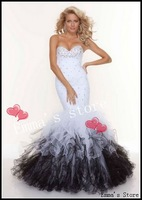 Free Shipping Fashion Designer 2013 New Off Price Sexy A/Line Sweetheart Tulle Appliques White Lady's Gowns Quinceanera Dresses