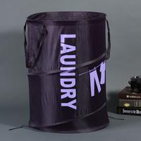 Boehner Violet Large oxford fabric storage bucket multi-purpose double laundry basket debris bucket cc61