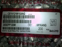 New Original 35v 120uF 10x13mm 105c RDL SANYO 35SEPF120M Polymer solid capacitors