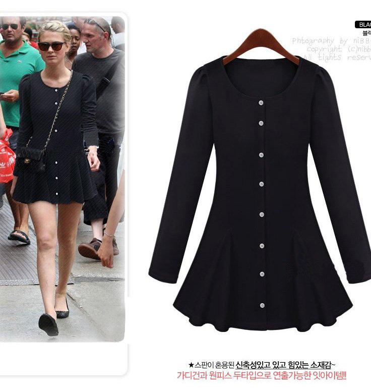 Long Sleeve Shirt Dress Plus Size Plus Size Long Sleeve