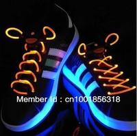 Free shipping! LED Light Lace,Flash Shoelaces,Luminous shoestring,LED bootlace new generation more brightness 2pair/lot
