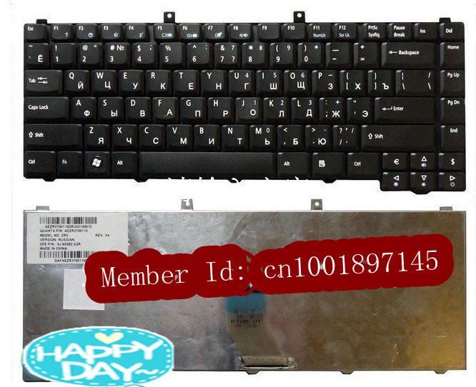 FREEshipping OriginalGenuineNew GoodWorking laptop keyboard For Acer Aspire 1400 1600 3680 5050 5600 5570 5500 5573 RUSSIAN(China (Mainland))