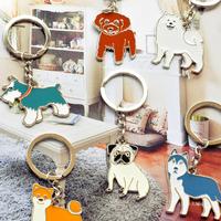 Yizi the dog keychain chain vip schnauzer shiba starlin9
