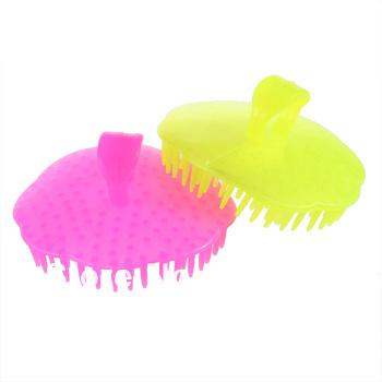 New Hair Shampoo Scalp Body Massage Massager Brush Comb Brand New