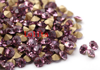 1,440pcs Point back Chaton light amethyst 013 Color Rhinestones free shipping ss3-ss20 beads jewelry making