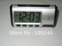 Multi Function Clock Nanny Cam Hidden Motion Detection Remote  Freeshipping