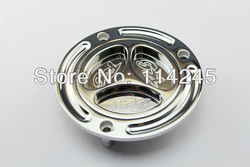 Chrome Keyless Fuel Tank Gas Cap For Yamaha YZF R6 1998 1999 2000 2001 2002 2003 2004 2005 2006 2007 2008 2009 2010 2011 2012(China (Mainland))