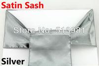 Satin Chair Cover Sash Satin Sash 100pcs