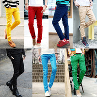 Free Shipping 2013  men's pants  Casual  Slim	 trousers man  corduroy  men trousers 8 color size 28-34
