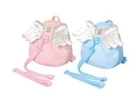 Angel Toddler Safety Harness kid Cotton Reins Baby Sling Backpack Child Walker Buddy Carrier Infant Back Pack - sample