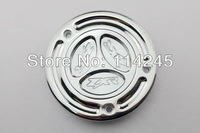 motorcycle parts Chrome Keyless Fuel Tank Gas Cap For Kawasaki 650R / ER-6 2006 2007 2008