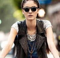 The men and women Retro Sunglasses, UV protection sunglasses High-end flip sunglasses (15 pieces/lot) Free shipping