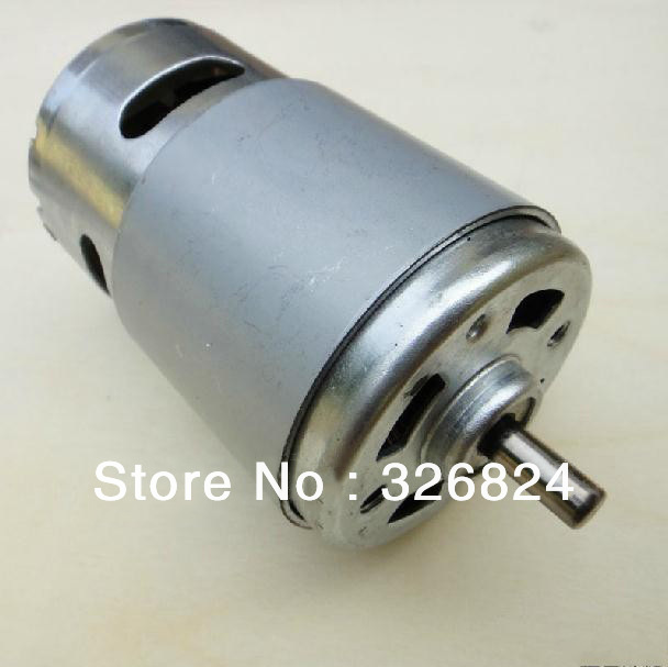 775 High Torque High Speed 12V 15600rpm Micro DC Motor for Hair Dryer/Fan/Electric/power tools/DIY parts(China (Mainland))