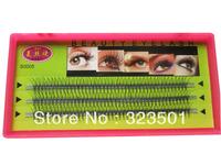 Charming Flare Eyelash W Crazy Eyelashes Knot free Natural For Eyelash Extension Free Shipping