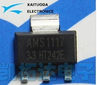 Free shipping 200PCS AMS1117-3.3V AMS1117 1117 3.3V 1A Voltage Regulator LDO SOT-223