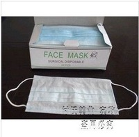 Nail art dust masks disposable mask double layer non-woven masks 30 pcs