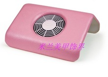 Nail art of vacuum cleaner pink Large vacuum cleaner finger nail art