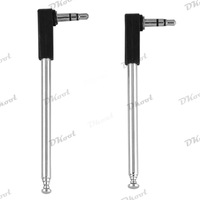3.5mm FM Radio Antenna for Mobile Cell Phone length 8.5-21cm