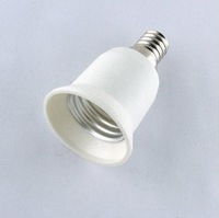 Flame retardant materials turn E14-E27 conversion head turn the small screw screw lamp holder E14 - E27 - conversion
