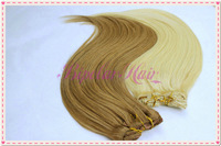 "Malaysian hair natural straight clip in hair, 100g, 20"" stock hair"