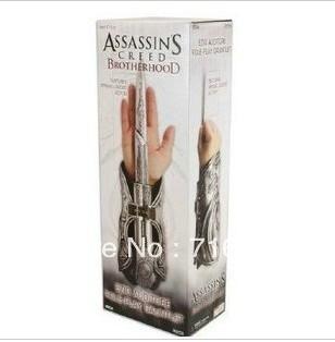 Ezio Cosplay on Free Shipping Assassin S Creed Ezio Auditore Hidden Blade Replica