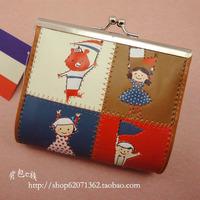 Shinzi katoh kato flags coin purse Small three-dimensional accessories storage bag