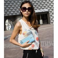 2012 women's card holder women's handbag small coin purse wallet Women day clutch long wallet design a13