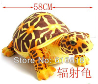 Free Shipping New Style Simulation Radiated Tortoise Turtle Plush Toy Doll Toy Pillow Seat Cushion Backrest Children Gift