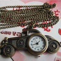 Best Classical Car Mini Pocket Watch Women Men Gift vintage watch cartoon watch steampunk death note