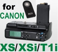 Battery Grip w/ LCD Monitor and IR Remote Controller for Canon XS XSi T1i 500D
