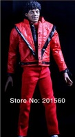 2013 NEW Michael Jackson Collection Action figure toys/dolls PVC Play/fashion dolls Model Toy Red smile free shipping