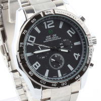 Fashion male watch submersible steel watch waterproof mens watch commercial the trend of fashion table