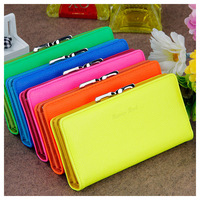 New arrival multi-colors Korea coin purse women wallets lady handbag free shipping retail and wholesale (WPW82)