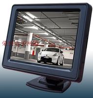 free shipping Ultra-thin hd 4.3 display sun-shading cover lcd screen rear view mirror double 12v 24v