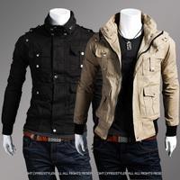 Fashion Uprising Classic Men's Jackets Male Fashionable Casual Slim Jacket Men Short Outerwear Brand Cool Men's Coat Hot Selling