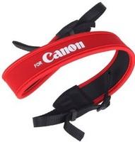 Camera Full Red Neoprene Neck Strap for Camera+