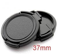 37mm Lens Cap for Panasonic Lumix DMC GF5 GF3 GF2 GX1 X14-42mm (Pack of 2)