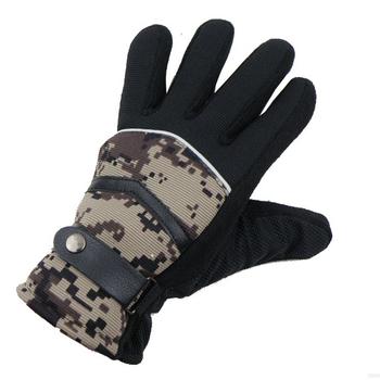 Winter outdoor freeknight slip-resistant granules sports gloves