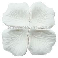 1000pcs-1200pcs Silk Flower Rose Petals Wedding Party Decoration Flowers Favors--white