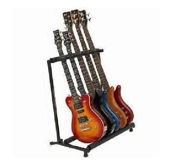 new arrive 7 in 1 folding  guitar hold guitar stand for classic, folk, jazz ,electric guitars and bass Free shipping