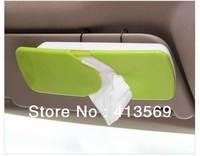 New Auto Car Sun Visor ABS Facial Tissue Box/Tissue Holder/Paper Towel Holder