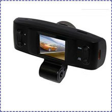 Freeshipping Night Vision 4 IR CPU NO GPS logger G-sensor,GS1000 Car DVR with Full HD1280*720P Accident Camera,Vehicle camera,