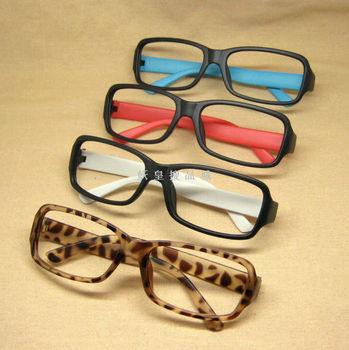 Scrub glasses frame vintage black-rimmed glasses frame glasses lens female eyeglasses frame