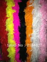 Free Shipping 50g Chicken Feather Strip Wedding Marabou Feather Boa 7 Color selected