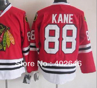 hockey Blackhawks #88 Patrick K A N E red jersey, PS: please read size chart before order