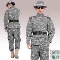 Cloud acu camouflage set ver5 male outdoor cs combat uniform