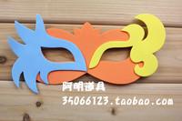 free shipping 10pcs/lot Infant 10g adult halloween supplies eva cartoon mask blindages b